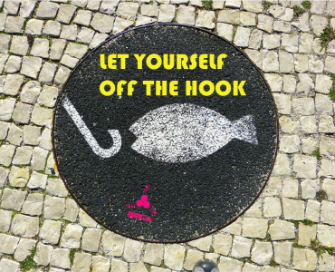 let yourself off the hook